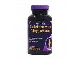 Natrol Calcium Magnesium (120 tabs)
