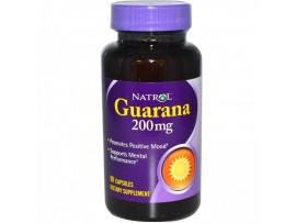 Natrol Guarana 200 мг (90 капс)