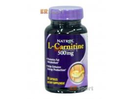 Natrol L-Carnitine 500 mg (30 табл)