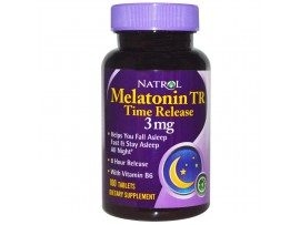 Natrol Melatonin Time Release 3 мг (100 табл)