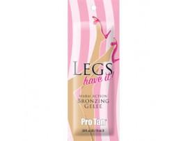 Legs have it! Warm Action Bronzing Gelee