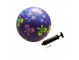 Мяч детский игровой с насосом