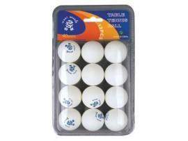 Мячи для настольного тенниса, 12 штук