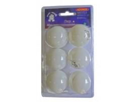 Мячи для настольного тенниса, 6 штук