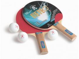Набор для настольного тенниса Meteo, 2 ракетки и 3 мяча