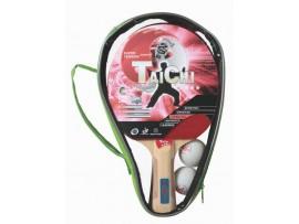 Набор для настольного тенниса TaiChi, 2 ракетки и 2 мяча