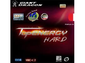 Накладка для теннисной ракетки TopEnergy Hard, гладкая