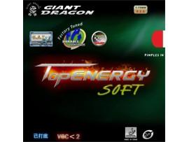 Накладка для теннисной ракетки TopEnergy Soft, гладкая