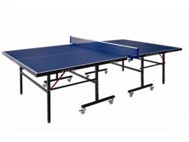 Тренировочный теннисный стол, тощина 16 мм, колеса 50 мм с сеткой