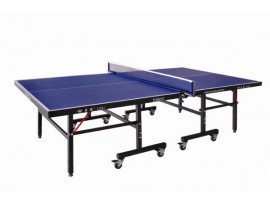 Тренировочный теннисный стол, тощина 18 мм, колеса 75 мм с сеткой